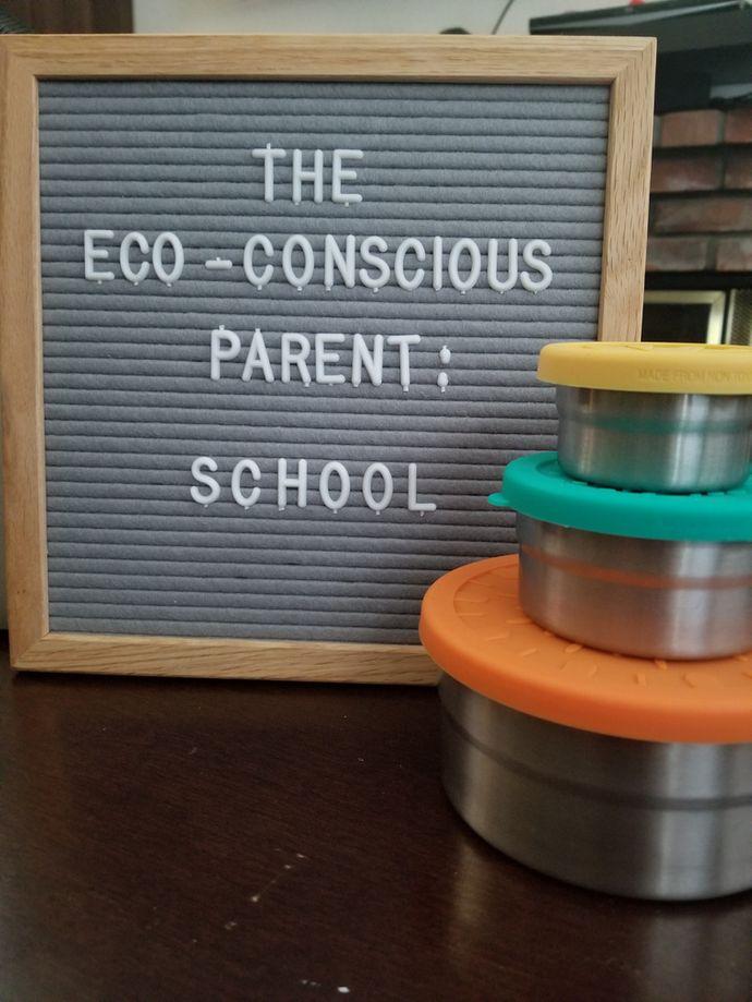 Environmentally Conscious Parent: Back to School edition