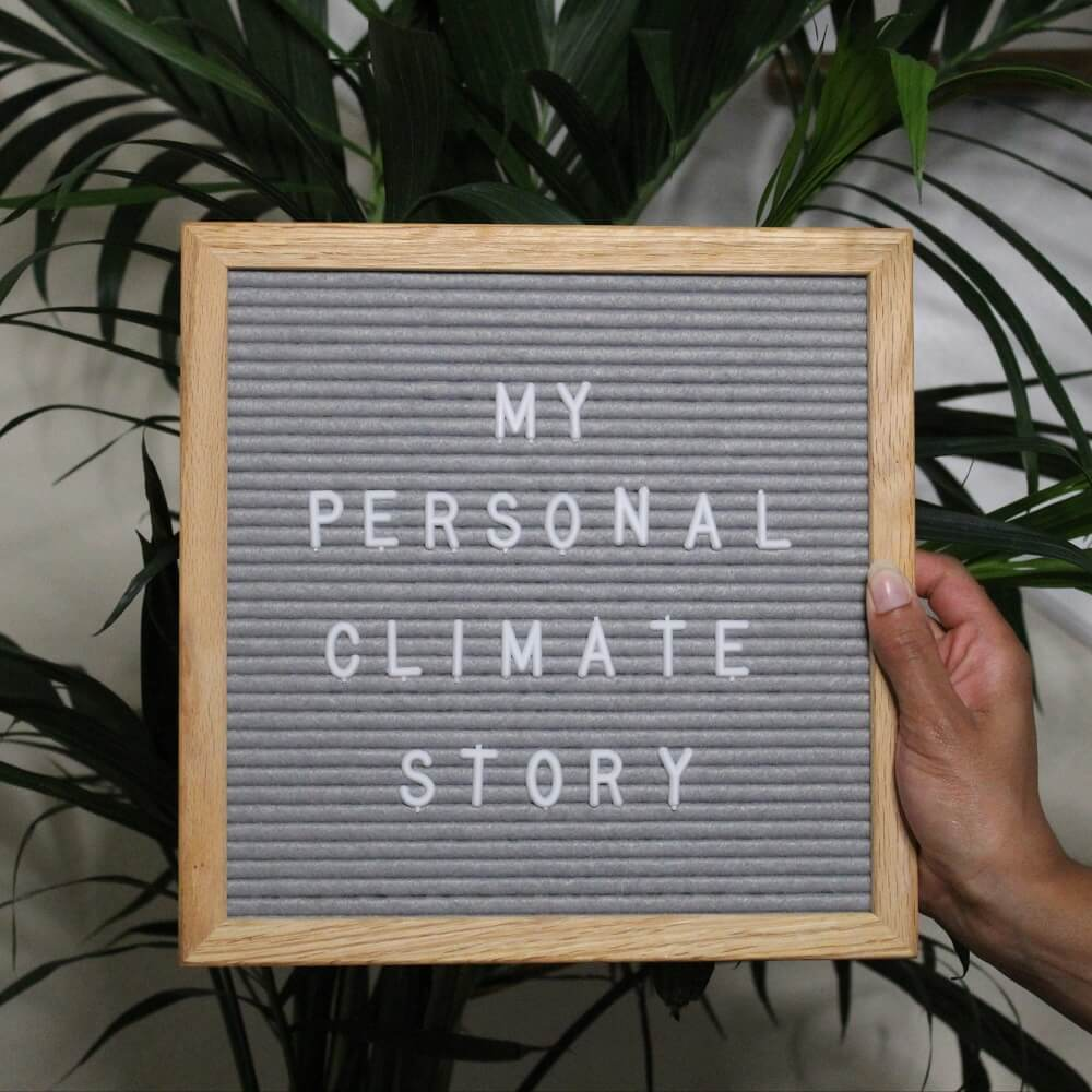 My Personal Climate Story